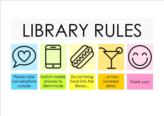 Library Rules version 3