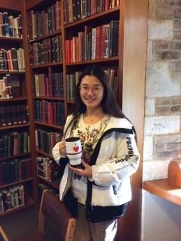 2019 Magdalene Library Survey travel mug prize winner