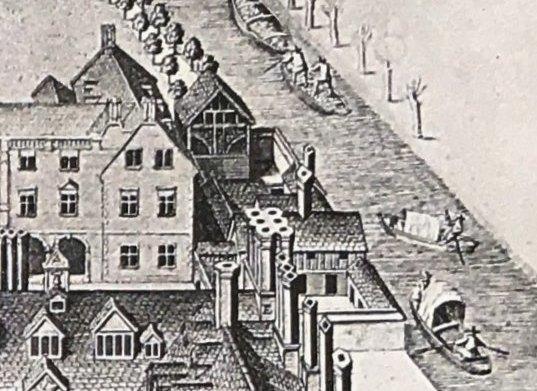 LogganPrintofMagdaleneCollege - Brewhouse