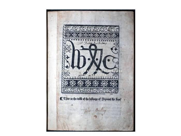 MEI image 1 - PL 1796 title page