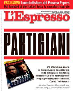 L'Espresso – 24 giugno 2018