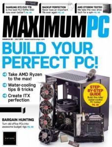 Maximum PC – July 2018 (True PDF)