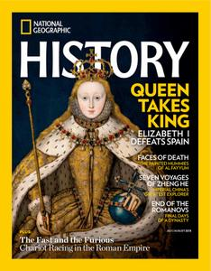 National Geographic History – July 2018
