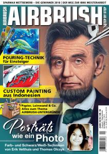 Airbrush Step by Step - August-September 2018 (German Edition)