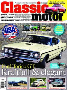 Classic Motor – augusti 2018