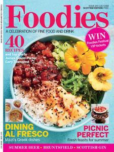 Foodies Magazine – July 2018