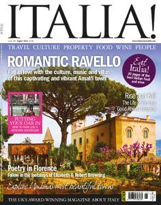 Italia! Magazine – August 2018