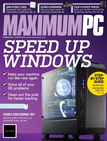 Maximum PC - August 2018