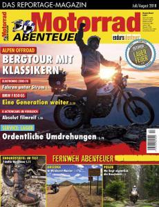 Motorrad Abenteuer - Juli-August 2018