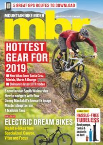 Mountain Bike Rider – August 2018