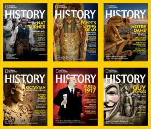 National Geographic History – 2017 Full Year Issues Collection