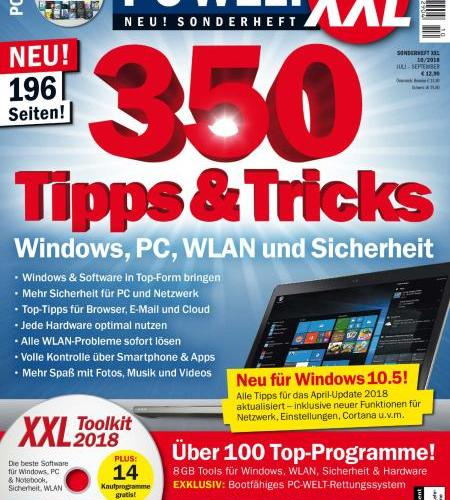PC-Welt Sonderheft XXL - Juli-September 2018