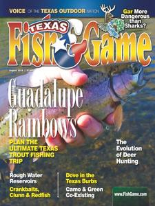 Texas Fish & Game – August 2018