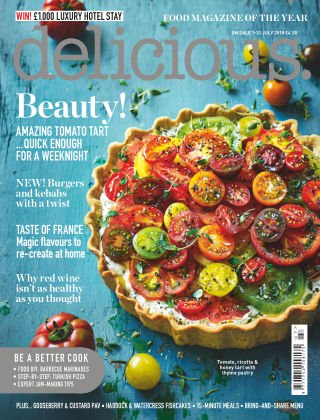 delicious. UK - July 2018
