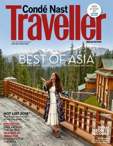 Conde Nast Traveller India – August/September 2018
