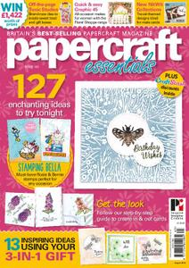 Papercraft Essentials – August 2018