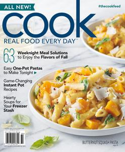 Cook Real Food Every Day – August 2018