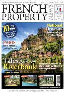 French Property News – January 2017