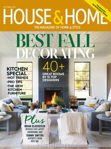 House & Home – October 2018