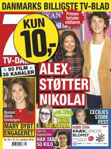 7 TV-Dage – 15. oktober 2018