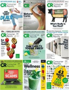 Consumer Reports – 2018 Full Year Issues Collection