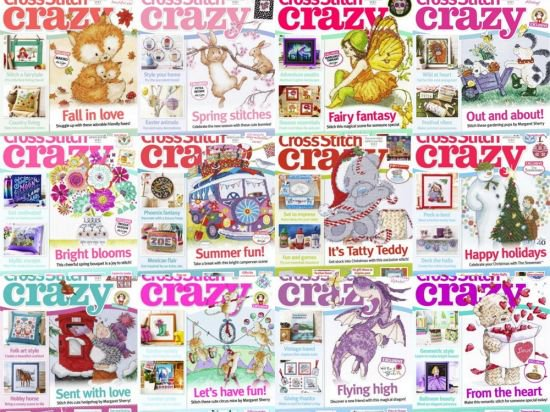 Cross Stitch Crazy - Full Year Issues Collection 2018