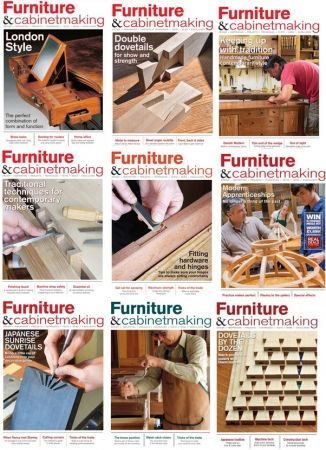 Furniture & Cabinetmaking - 2018 Full Year Issues Collection