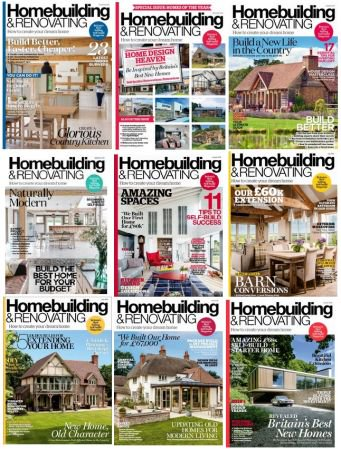 Homebuilding & Renovating - 2018 Full Year Issues Collection