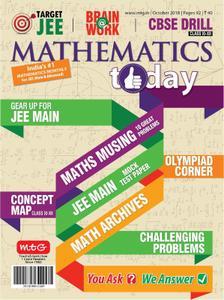 Mathematics Today – October 2018