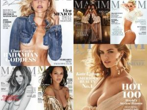 Maxim USA – Full Year Issues Collection 2018