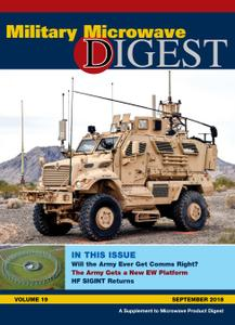 Military Microwave Digest - September 2018
