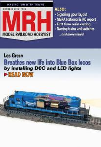 Model Railroad Hobbyist Magazine - October 2018