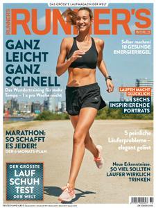 Runner's World Deutschland – Oktober 2018