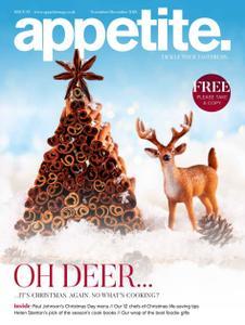 Appetite. Magazine - November-December 2018