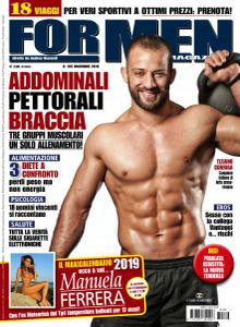 For Men Magazine N.189 – Novembre 2018