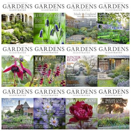 Gardens Illustrated - Full Year Issues Collection 2018