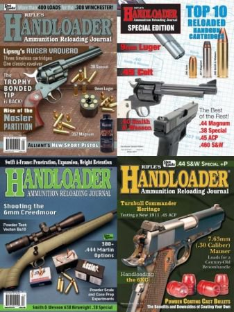 Handloader - Full Year Issues Collection 2018