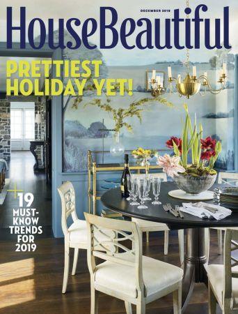 House Beautiful USA - December 2018