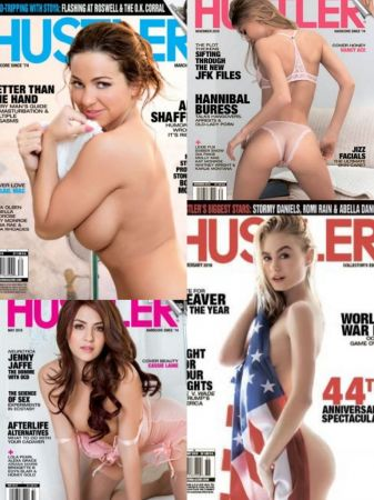 Hustler USA - Full Year Issues Collection 2018