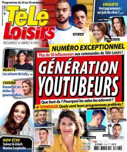 Télé Loisirs - 19 Novembre 2018
