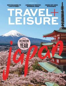 Travel+Leisure USA - December 2018