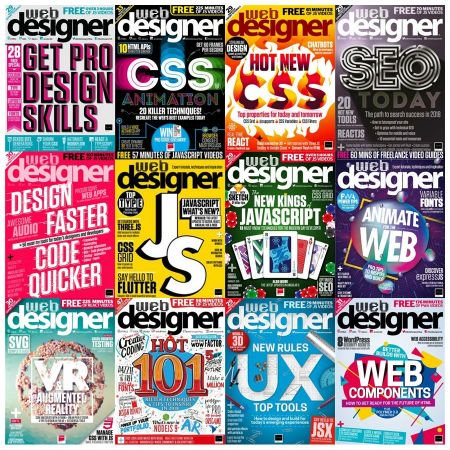 Web Designer UK - 2018 Full Year Issues Collection