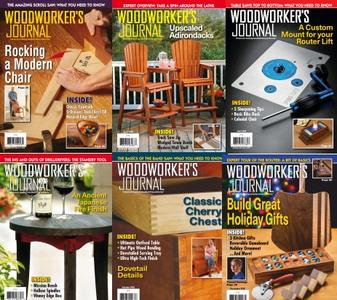 Woodworkers Journal - Full Year 2018 Collection