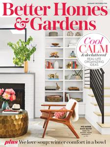 Better Homes & Gardens USA - January 2019