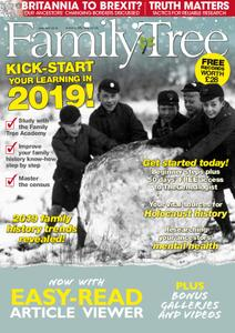 Family Tree UK – January 2019