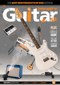 Guitar Interactive - Issue 62, 2018