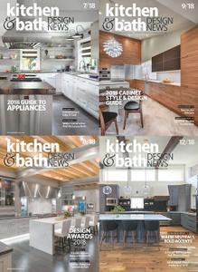 Kitchen & Bath Design News 2018 Full Year Collection