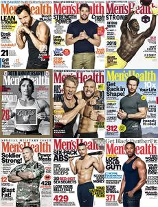 Mens Health USA - Full Year 2018 Collection