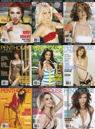 download Penthouse Letters magazine Full Year 2018 issue