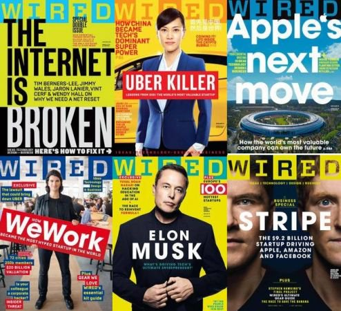 Wired UK - Full Year 2018 Collection